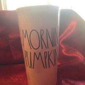 New Rae Dunn Hello Pumpkin Mug